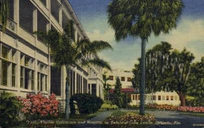 Estelle Lake - Orlando, Florida FL Postcard