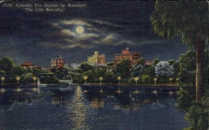 Skyline - Orlando, Florida FL Postcard