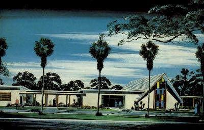 Garden Chapel - Orlando, Florida FL Postcard