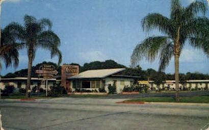 Crescent Court - Orlando, Florida FL Postcard