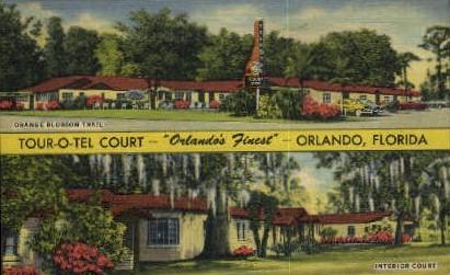 Orange Blossom Trail - Orlando, Florida FL Postcard