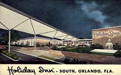 Holiday Inn - Orlando, Florida FL Postcard