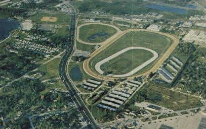 Ben White Raceway - Orlando, Florida FL Postcard