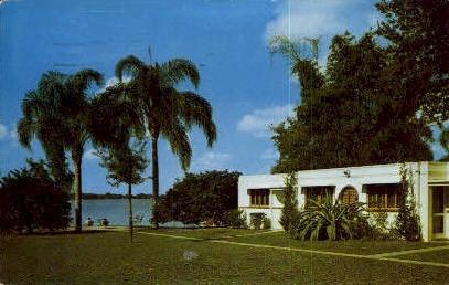 Lake Shore Motor Court - Orlando, Florida FL Postcard