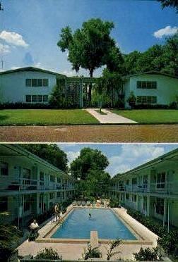 Townhouse Apartment - Orlando, Florida FL Postcard