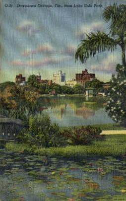 Downtown Orlando - Florida FL Postcard
