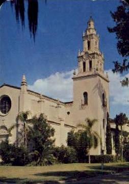 Knowles Memorial Chapel - Orlando, Florida FL Postcard