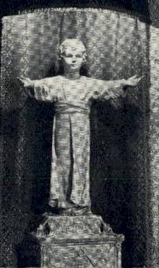 Statue of Christ Child - Orlando, Florida FL Postcard