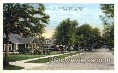 North Orange Ave - Orlando, Florida FL Postcard