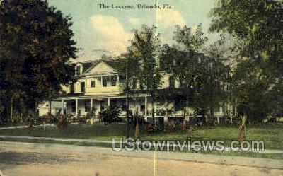 Lucerne - Orlando, Florida FL Postcard