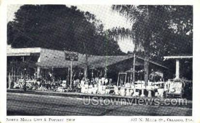North Mills Gift - Orlando, Florida FL Postcard