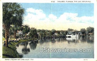 Lake Eola - Orlando, Florida FL Postcard