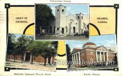 Presbyterian Church - Orlando, Florida FL Postcard