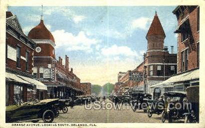 Orange Ave - Orlando, Florida FL Postcard