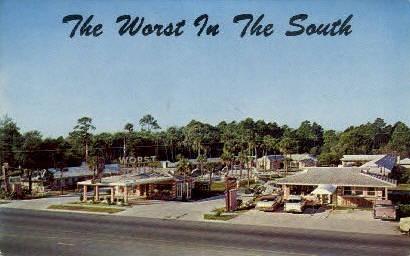 Thomas Motel - Ormond Beach, Florida FL Postcard