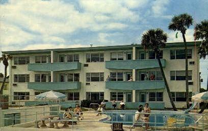 Driftwood Beach Motel - Ormond Beach, Florida FL Postcard