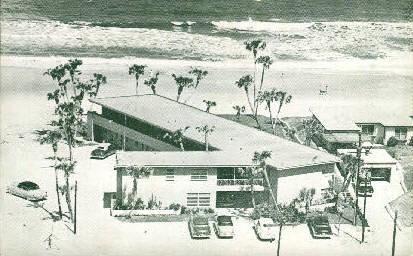 Ormond Ocean Court - Ormond Beach, Florida FL Postcard