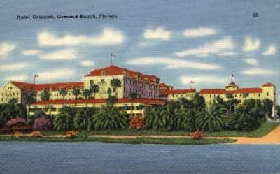Ormond Hotel - Ormond Beach, Florida FL Postcard