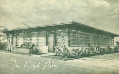 Royal Palm - Ormond Beach, Florida FL Postcard