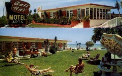 Bali Ha'l Motel - Ormond Beach, Florida FL Postcard