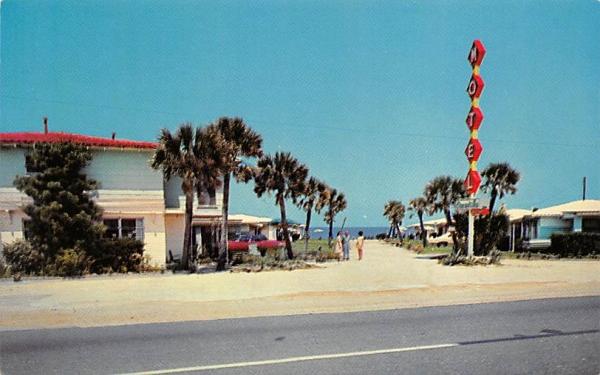 Ormond by the Sea Motel Ormond Beach, Florida Postcard
