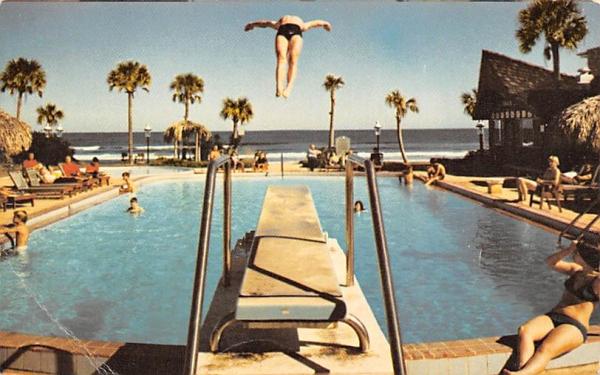 Sheraton-Daytona Beach Motor Inn Ormond Beach, Florida Postcard