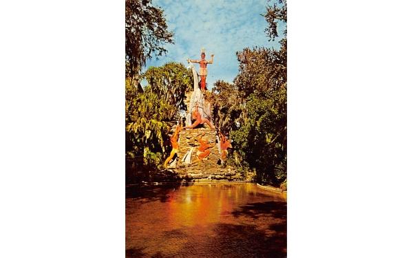 Giant Chief Tomoka Ormond Beach, Florida Postcard