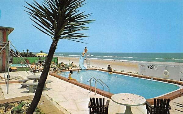 Sun Set Motel Ormond Beach, Florida Postcard
