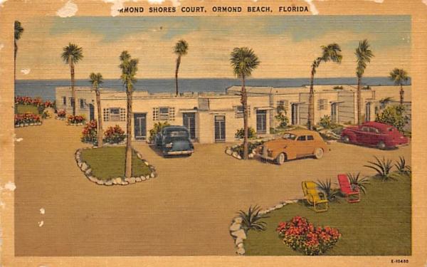 Ormond Shores Court Ormond Beach, Florida Postcard