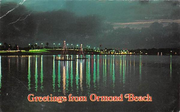 Greetings from Ormond Beach, FL, USA Florida Postcard