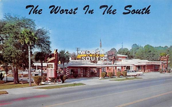 Thomas Motel, Restaurant and Cocktail Lounge Ormond Beach, Florida Postcard