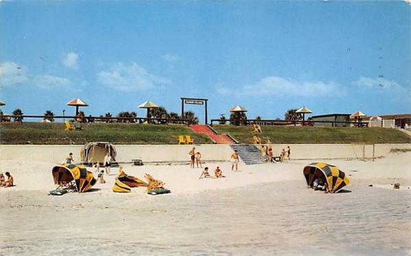 Ellinor Village's Beachside Resort Ormond Beach, Florida Postcard