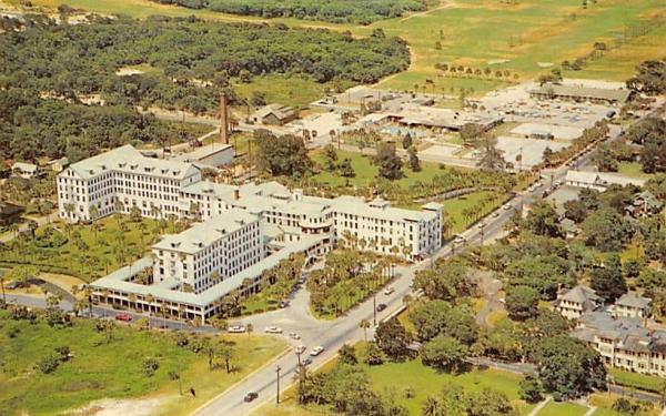 Famous Ormond Beach Hotel Florida Postcard