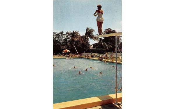 The Ellinor Village Country Club Ormond Beach, Florida Postcard