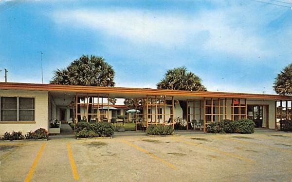 Village Motel Ormond Beach, Florida Postcard