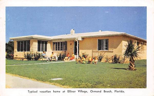 Typical Vacation home at Ellinor Village Ormond Beach, Florida Postcard