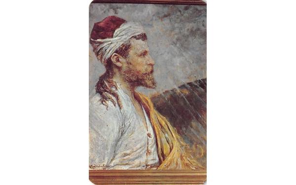 Jesus of Nazareth Leader of Men Ormond Beach, Florida Postcard