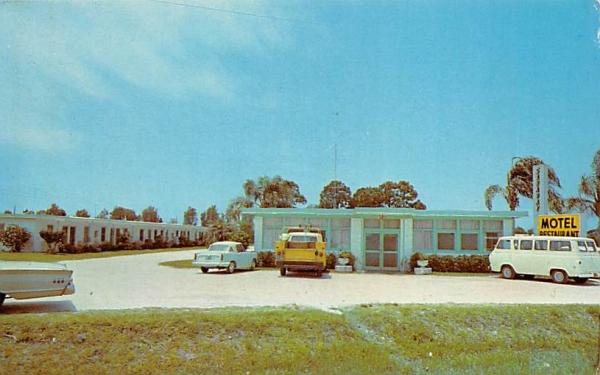 Sarabay Motel & Restaurant Osprey, Florida Postcard
