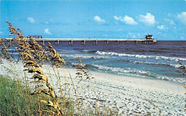 Okaloosa Island Pier Florida Postcard