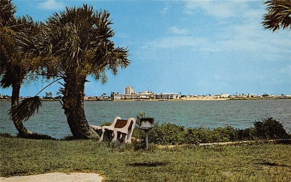 Halifax River Ormond Beach, Florida Postcard