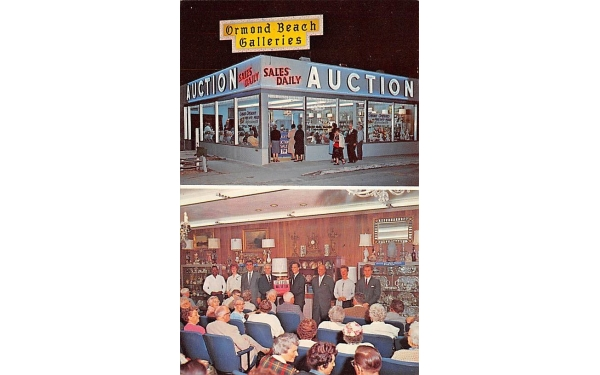 Ormond Beach Galleries Inc. Florida Postcard