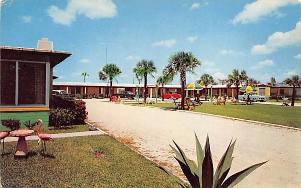 Starlight Lodge Ormond Beach, Florida Postcard