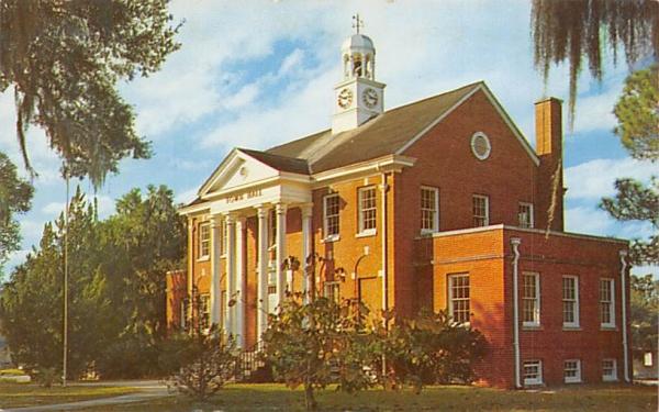 Town Hall Orange City, Florida Postcard