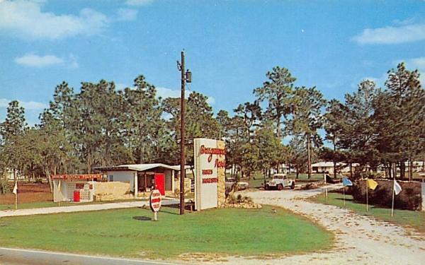 Breezewood Park, INC. Orange City, Florida Postcard