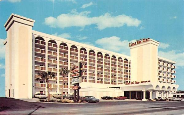 Casa Del Mar Ormond Beach, Florida Postcard