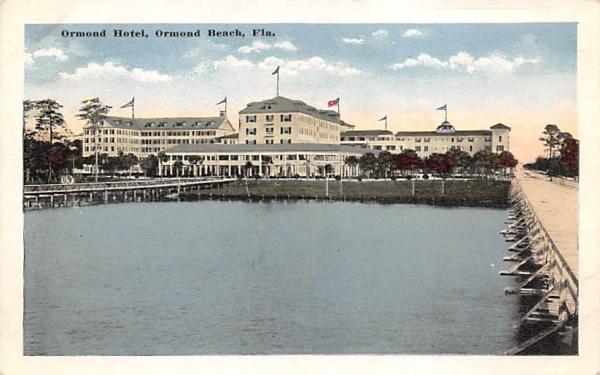 Ormond Hotel Ormond Beach, Florida Postcard