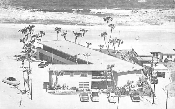 Ormond Ocean Court Ormond Beach, Florida Postcard