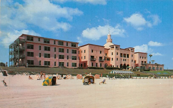 The Coquina Ormond Beach, Florida Postcard