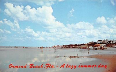 A Lazy Summer Day Ormond Beach, Florida Postcard