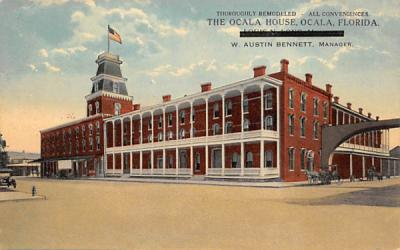 The Ocala House Florida Postcard
